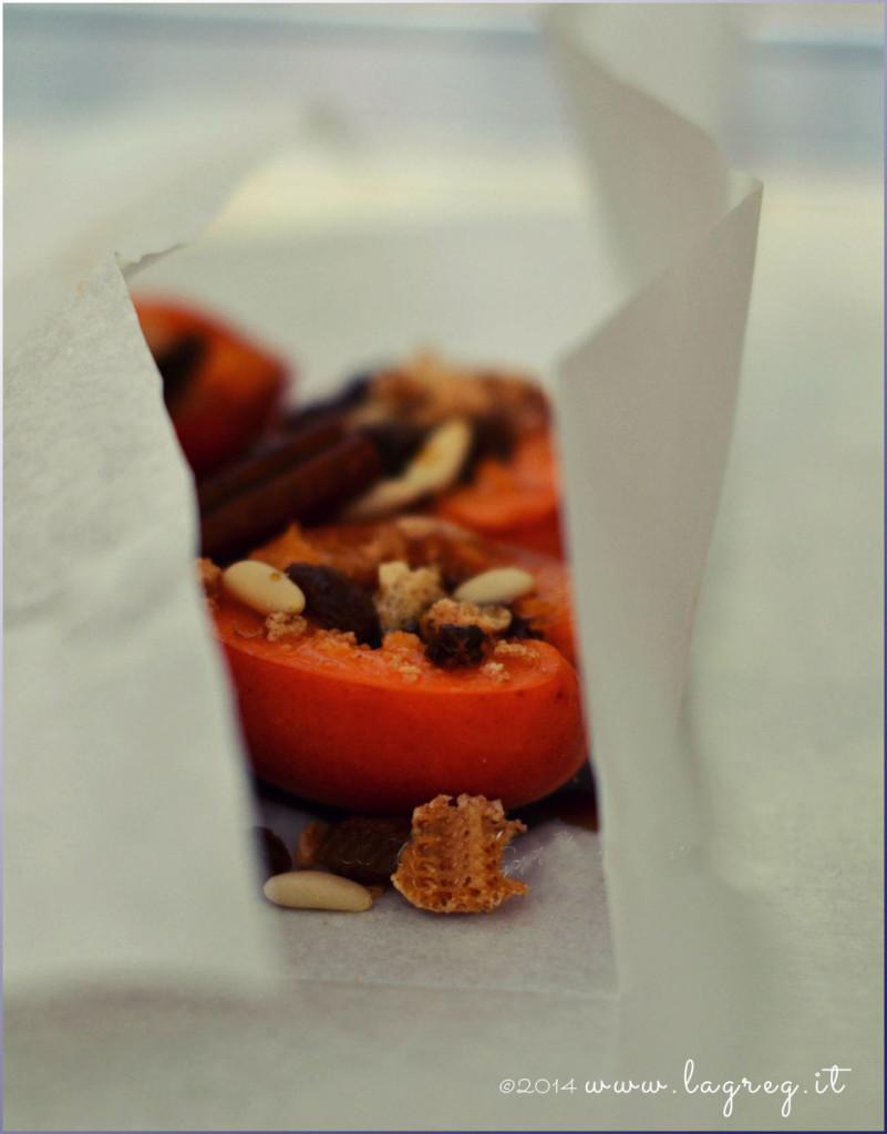 albicocche al cartoccio 4