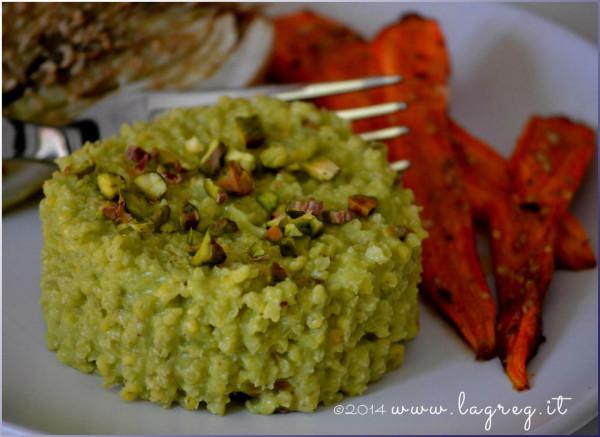 miglio al pesto di avocado e pistacchi_slider