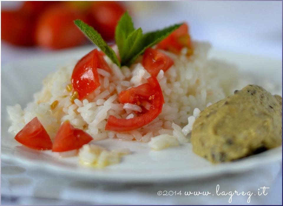 riso freddo con crema di melanzane e menta_slider
