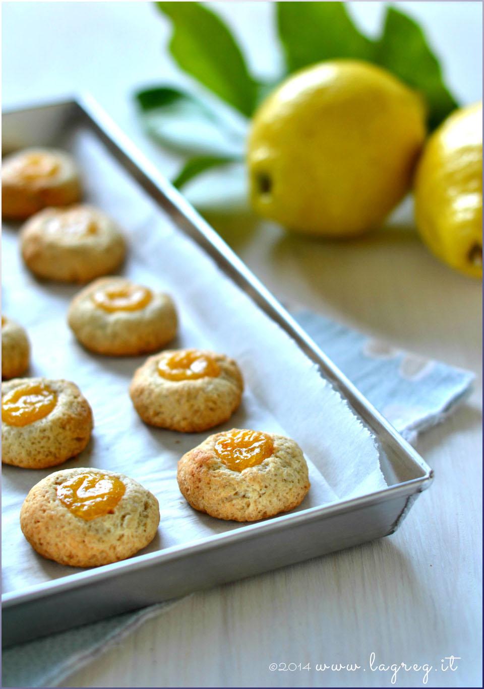 curd thumbprint cookies