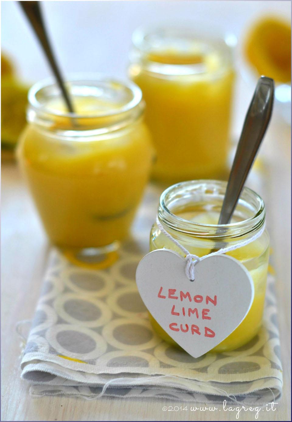 honey lemon lime curd