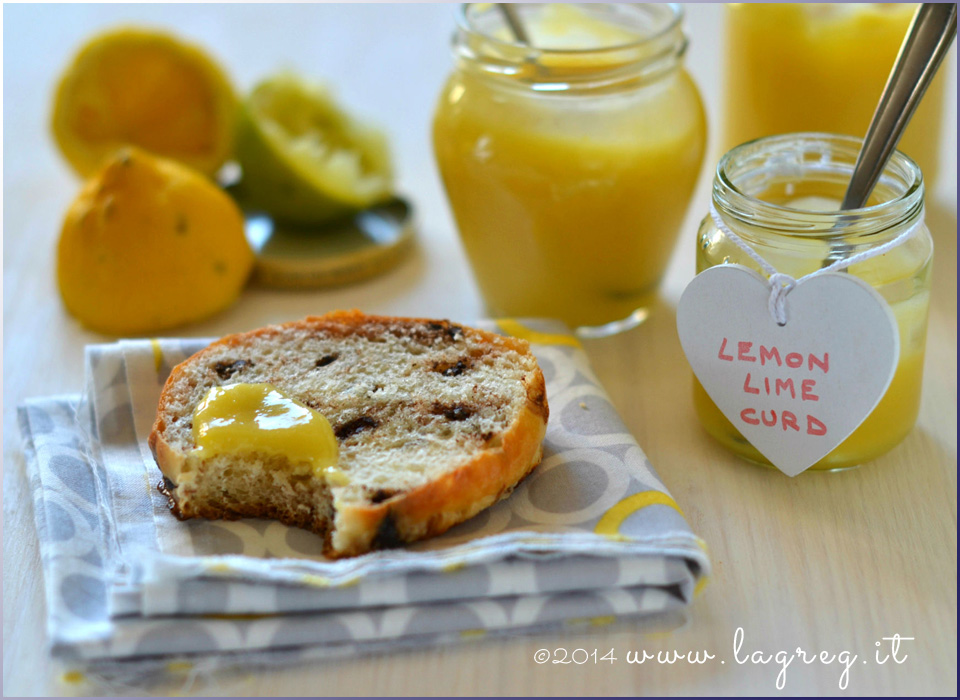 honey lemon lime curd