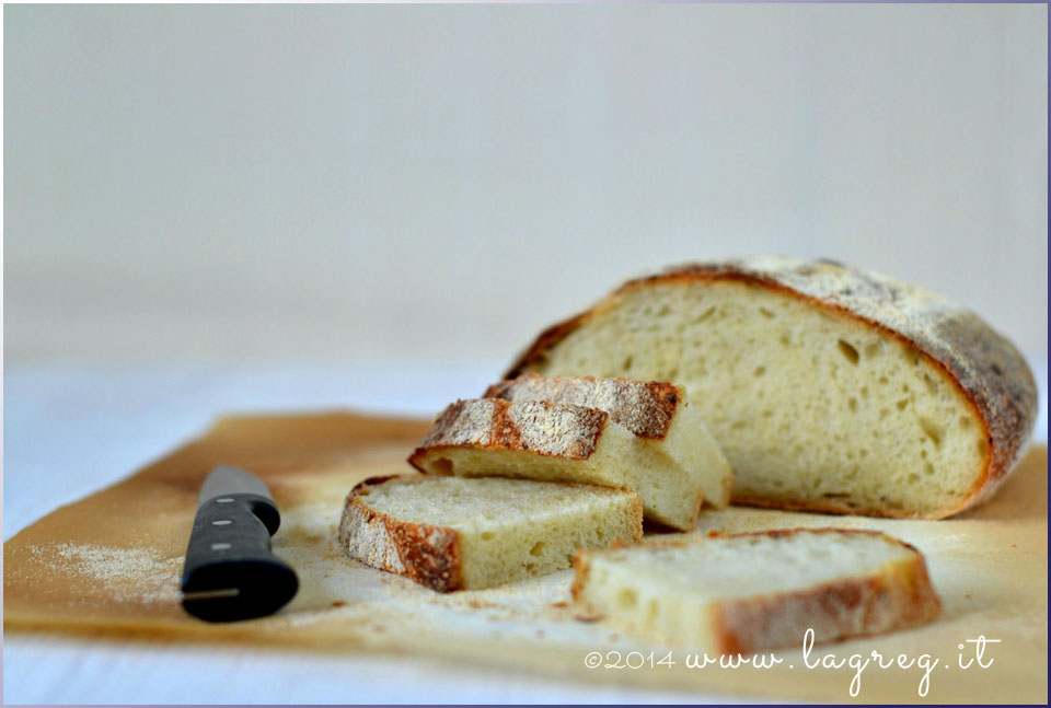 pane alla patate a lievitazione naturale | sourdough potato bread
