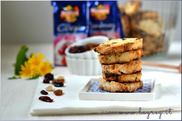 biscotti gluten free miele e frutti rossi