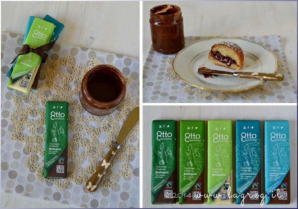 crema di nocciole all'olioextravergine di oliva