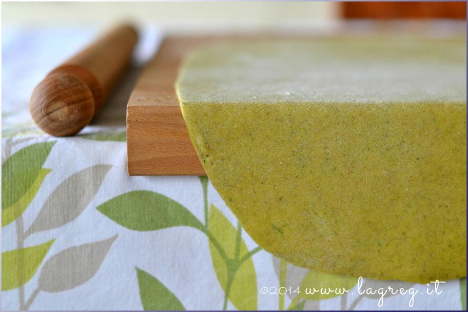 lasagne ai broccoli con porri e triglie alle nocciole6