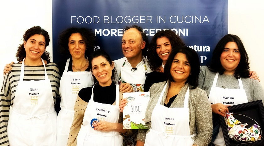 Ventura Top Blogger con Moreno Cedronibis