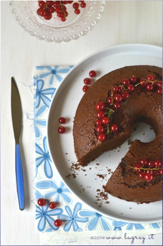 cocoa and redcurrants chiffon cake…alias la fluffosa