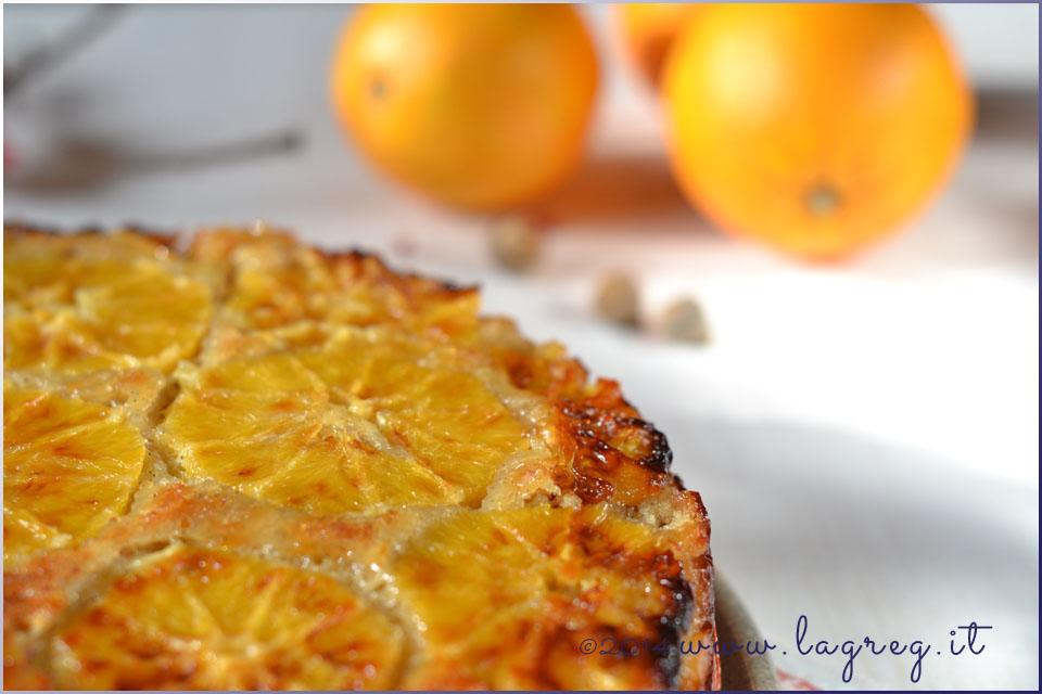 torta rovesciata all'arancia e cardamomo | cardamom and orange upside-down cake