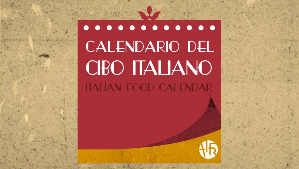 calendario cibo italiano