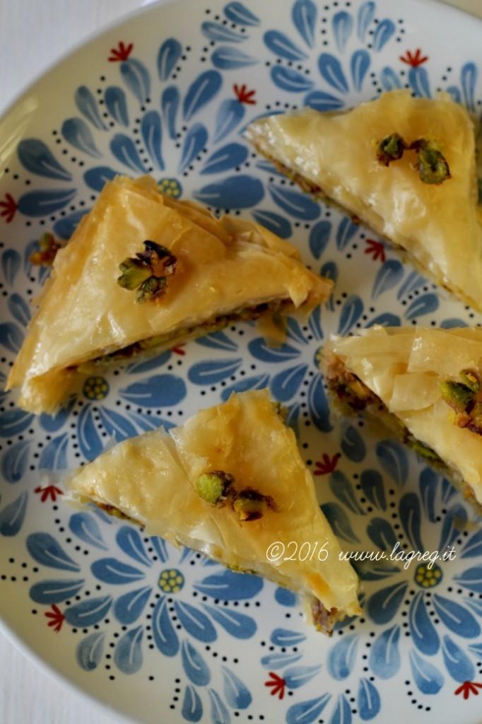 baklava ai pistacchi